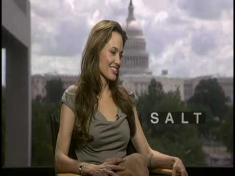 Angelina Jolie Interview for SALT