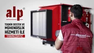 RAM Makinesi Elektrostatik Baca Filtresi - Alperen Mühendislik Video