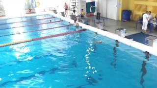 Синхронное плавание Aрине 10лет