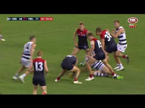 Round 3 AFL - Geelong Cats v Melbourne Highlights
