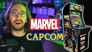 marvel-capcom-together-again-arcade-1up-cabinet-unbox-assembly