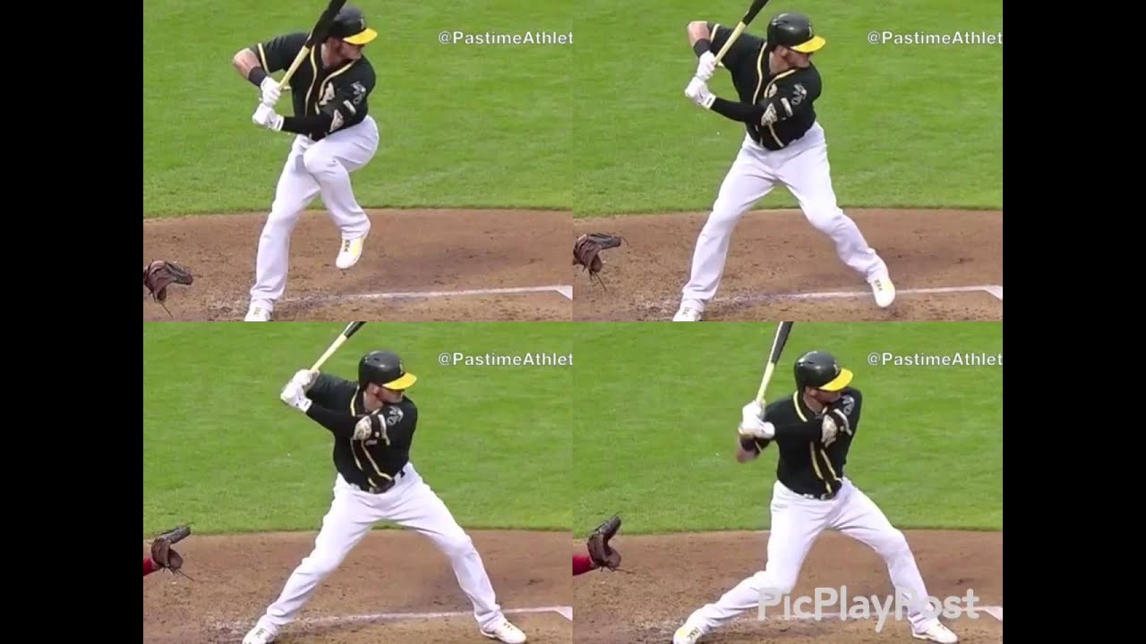Slow Motion Baseball Swing >> Josh Donaldson swing sequence slo mo - YouTube