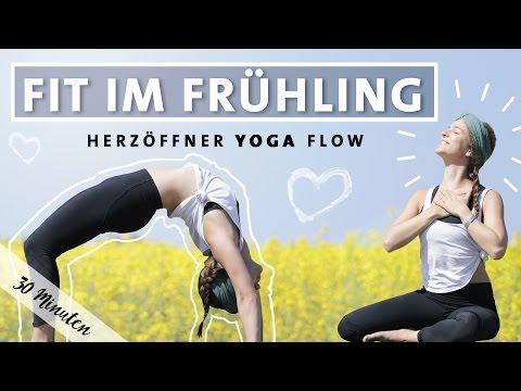 Yoga Vinyasa Flow   Fit Im Frühling   Happy Herzöffner