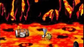 DKC2 Hard As Kongcrete - 8 Lost World - 4 Fiery Furnace
