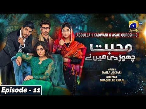 Download Mohabbat Chor Di Maine - Episode 11 - 15th October 2021 - HAR PAL GEO