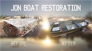 $100 Jon Boat Restoration Project (2016)