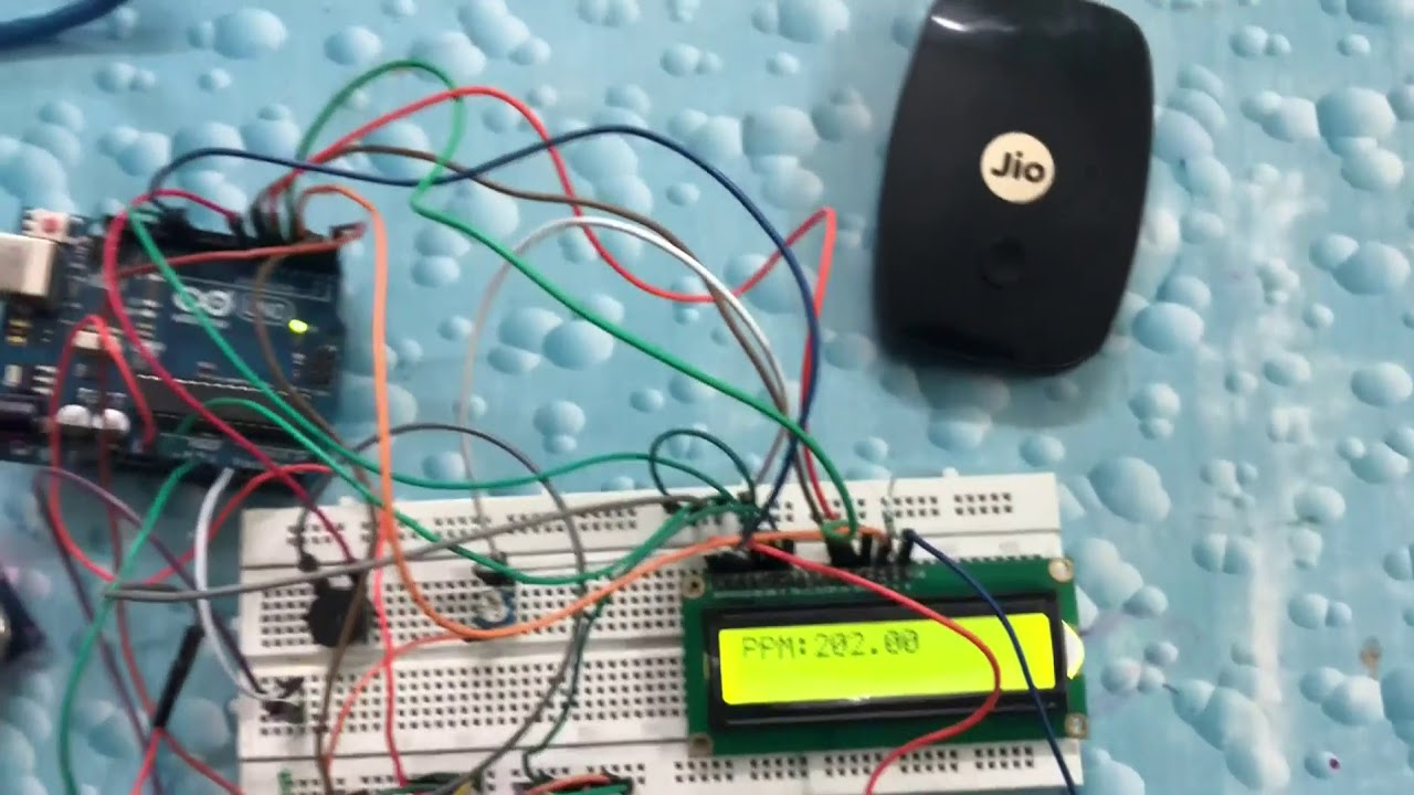 IoT based Air Pollution Monitoring System