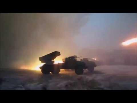 Katyusha firing (no battlefield music)