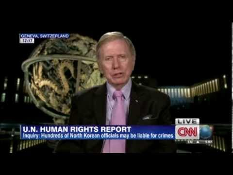 Michael Kirby, UN  Chair on North Korea's Human Rights Abuse