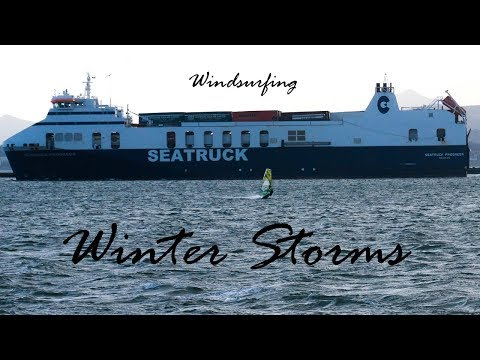 Windsurfing, Shipping Channels and Winter Storms - Adventure Vlog 11 - Dublin