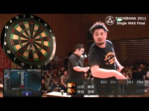 Soft Darts Tournament TACHIBANA 2011  Single MAX Final