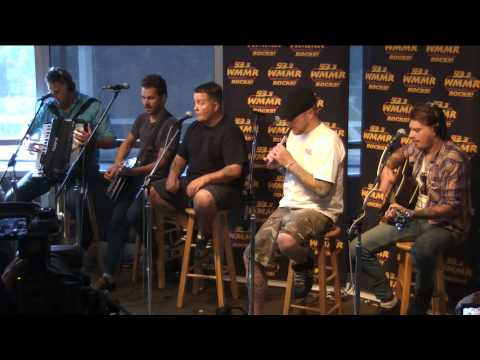 Dropkick Murphys  Shipping up to Boston Acoustic  on the Preston & Steve Show on 933 WMMR