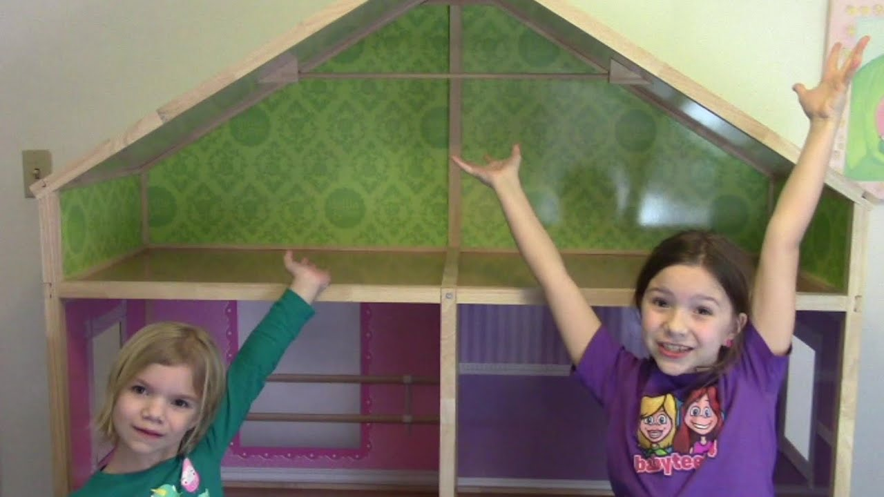 Dollie Me Biggest Dollhouse Ever Youtube