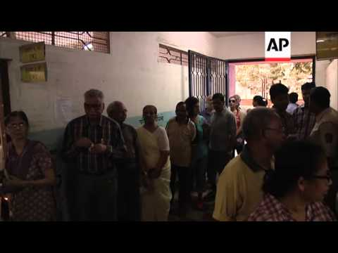 Polls open and votes cast on sixth polling day in multi-phase national election