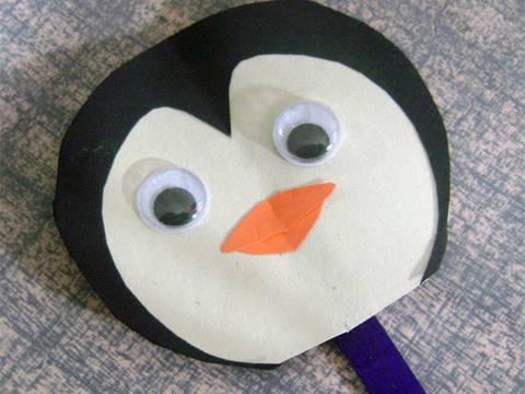 Manualidades de papel: pinguinos - Titere - manualidadesconninos ...
