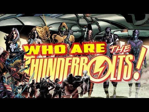 History And Origin Of Marvel's THE THUNDERBOLTS! Debuting In Marvel's MCU Phase 4!