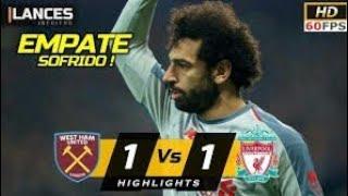 Liverpool 1 x 1 West Ham | Melhores momentos