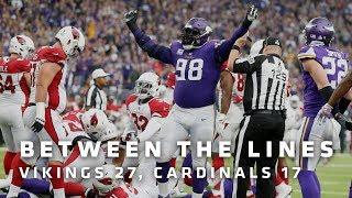 Between The Lines: Minnesota Vikings 27, Arizona Cardinals 17