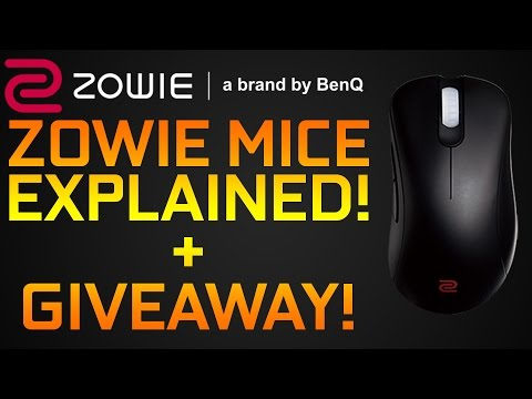 Zowie Mice Overview and GIVEAWAY! EC, FK, ZA Series Explained!