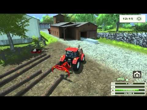 FARM SIM SATURDAY  Farming trees and barley