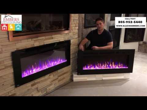 Allure Series vs AllurePhantom Series Napoleon Electric Fireplace Review