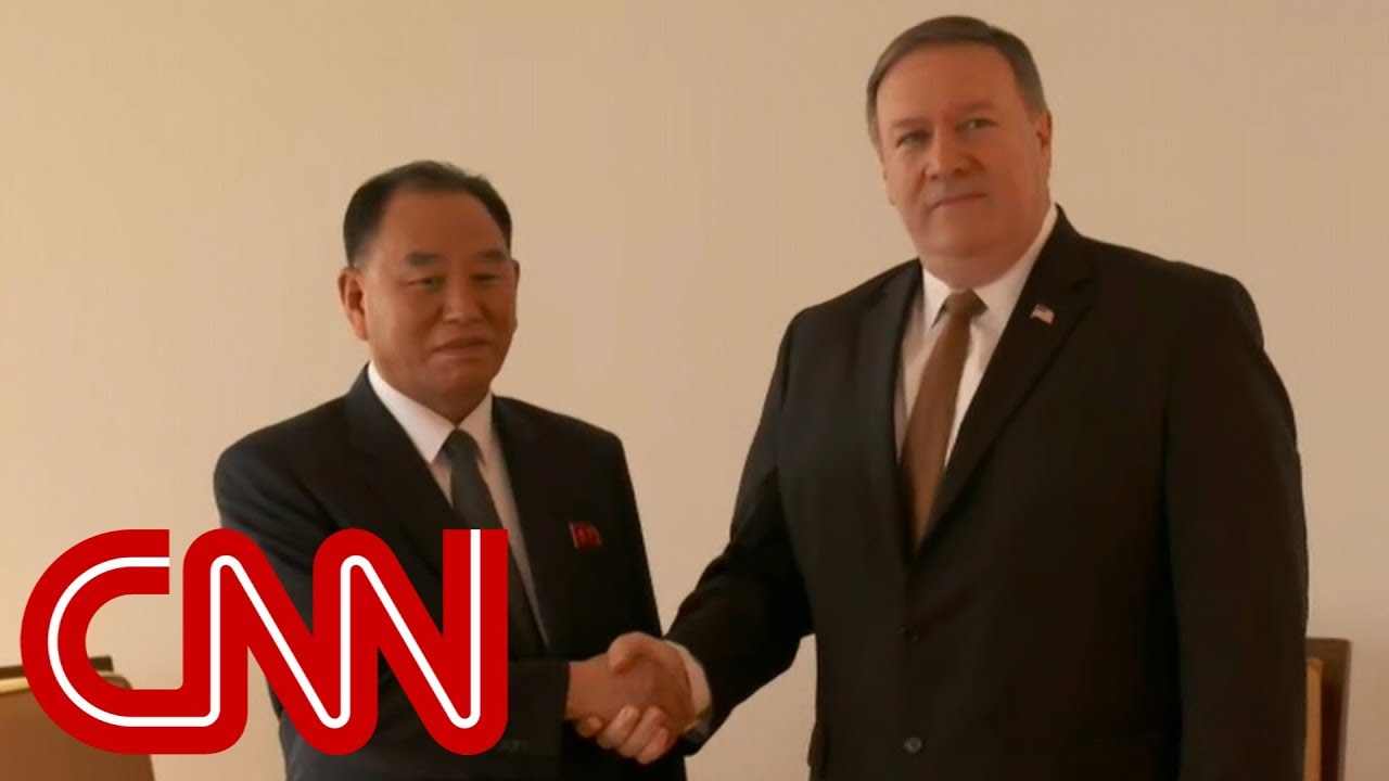 Pompeo meets with top North Korean official