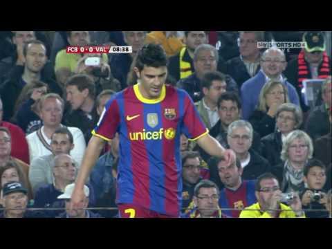 Barcelona vs Valencia la liga 16-10-2010- 720p
