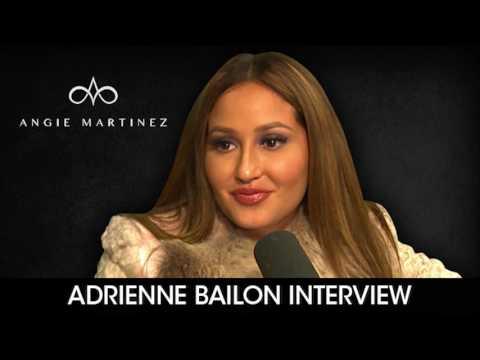 Adrienne Bailon Talks To Angie Martinez