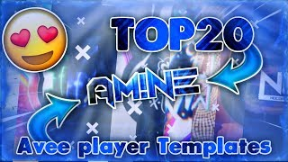 TOP50》 Avee player template || 3k subscribers special