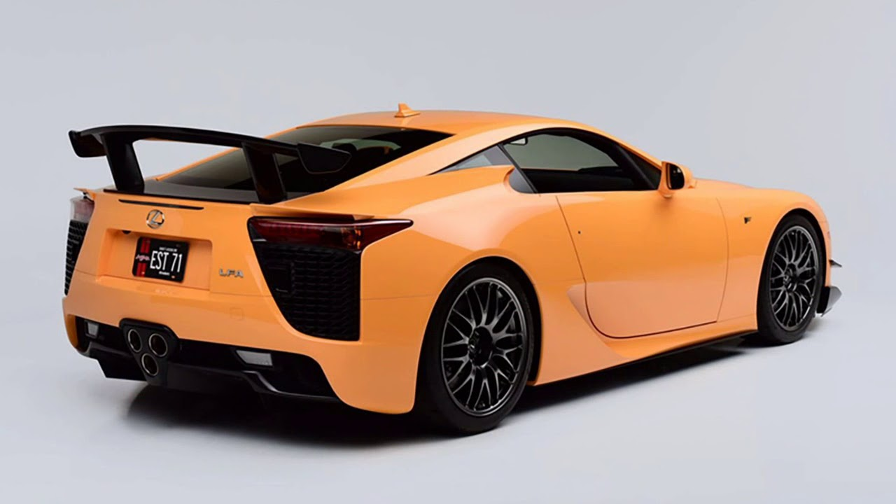 Cool The Most Expensive Japanese Car Ever Lexus Lfa Nurburgring