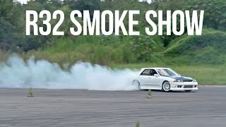 550whp Skyline First Drifts!