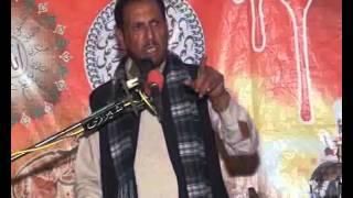 Zakir Riaz Hussain shah of Ratowalbiyan Azadari  Majlis 2016 jalsa Behik Daim Sargodha
