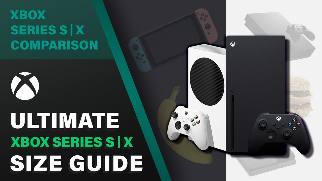 Xbox Series X Series S Size Comparison Video Playstation 4 Banana Gamecube And Many More Windows Central