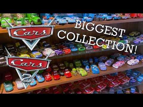 World's Largest Disney PIXAR CARS collection (my dad's!!)