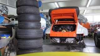 Premiere mise en route apres refection moteur Porsche 3.0L SC