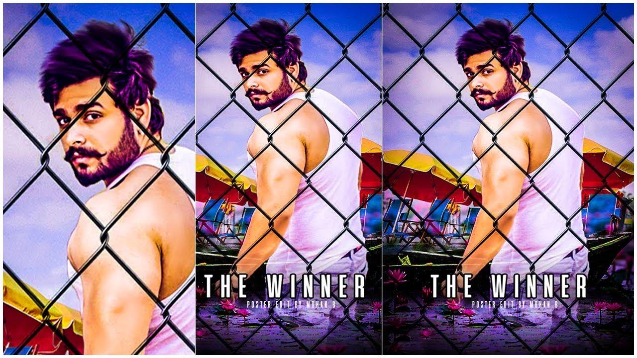 The Winner Movie Poster Editing || Photoshop Tutorials