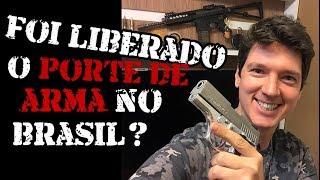 Porte de Arma x Posse de Arma - Novo Decreto de 2019 - Luiz Rider
