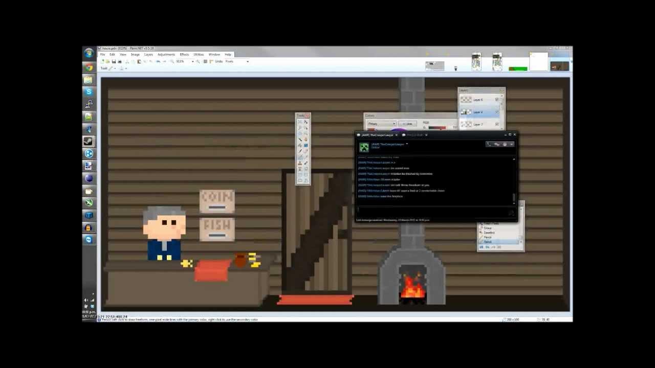 pixel art timelapse house interior youtube rh youtube com pixel art car interior