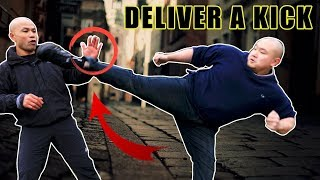 How to deliver a kick | Street Fight