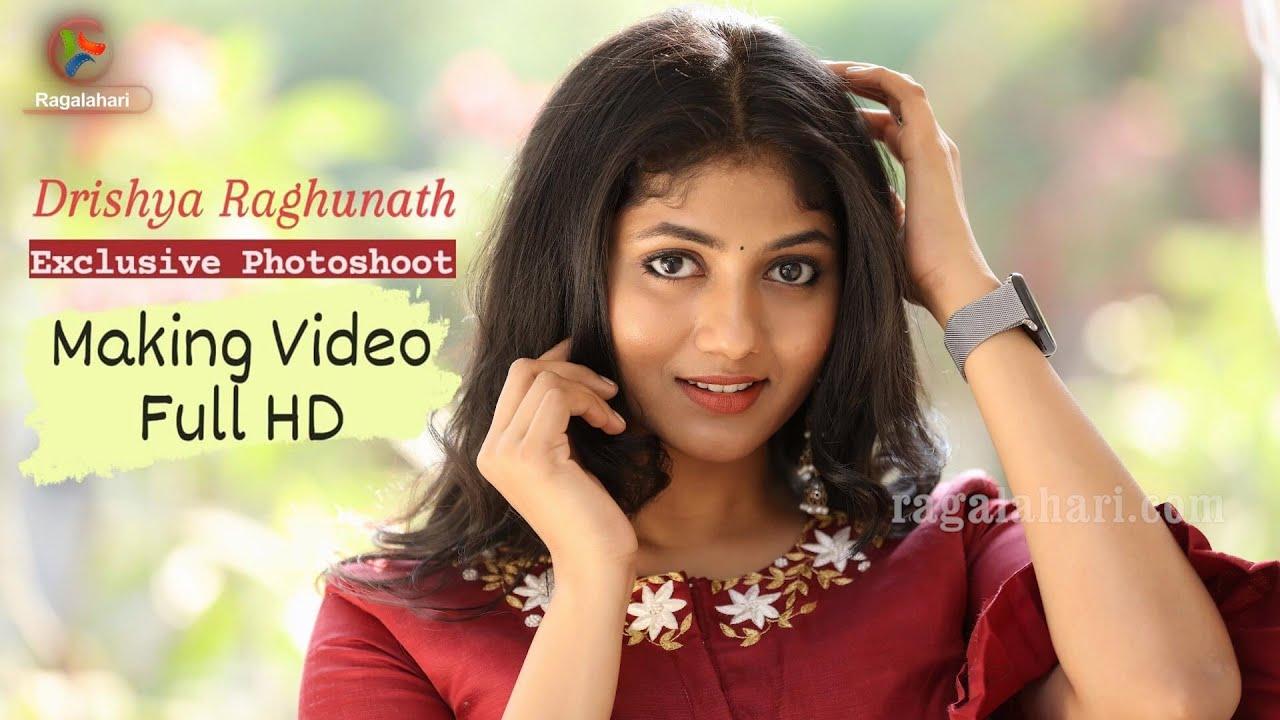 Download Drishya Raghunath l Exclusive Photo Shoot Making Video Full HD   Ragalahari