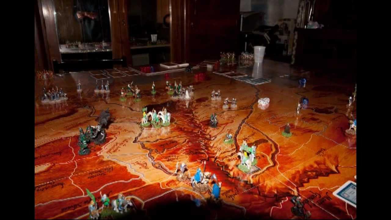 La guerra dell 39 anello gioco da tavolo custom unico al mondo da vedere youtube - Partini gioco da tavolo ...
