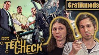 GTA 5 und Witcher 3: Die Macht von Grafikmods | TechCheck #01 mit Valentin & Micha