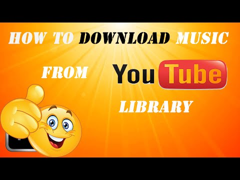 how-to-download-music-from-youtube-audio-library---easy-2016