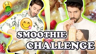 SMOOTHIE CHALLENGE 2 AVEC HUBY - CARL IS COOKING