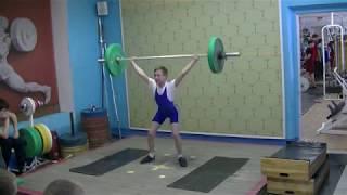 Ксенофонтов Матвей, 13 лет, вк 38 Рывок 40 кг