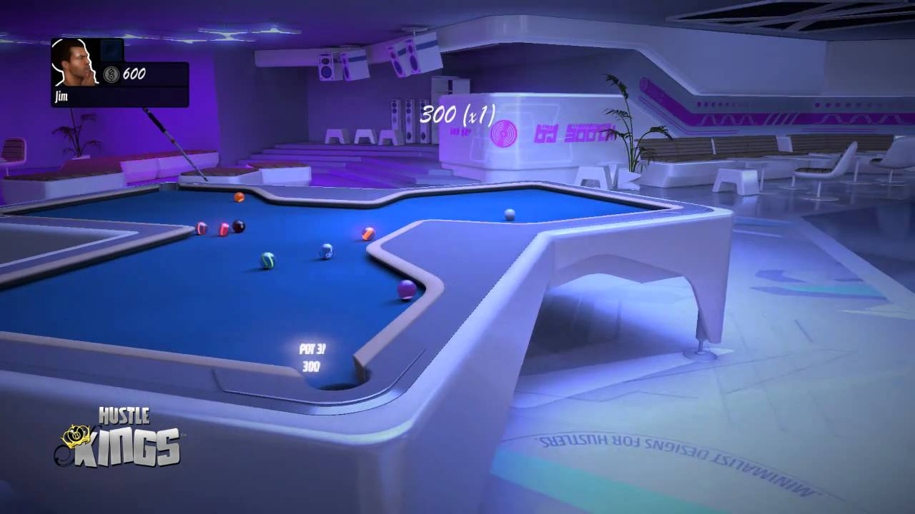 Hustle Kings Crazy Hex Table Neon Ballz YouTube - Neon pool table