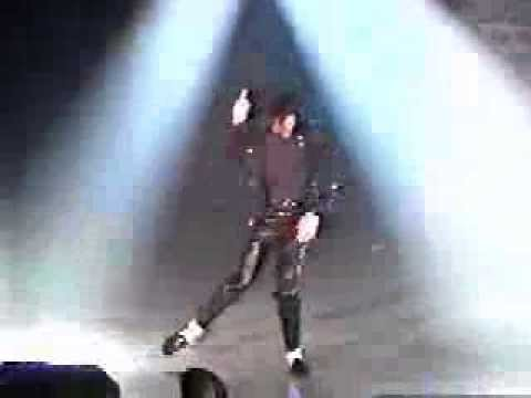 Brandon Dancing to Thriller as Michael Jackson
