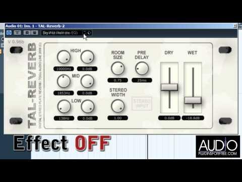 Tal-Reverb II (Reverb) • Audio Plugins for Free