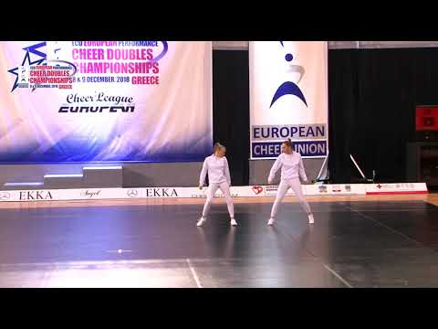 139 JUNIOR DOUBLE CHEER HIP HOP Te Voorwis   Swienink DCA NETHERLAND