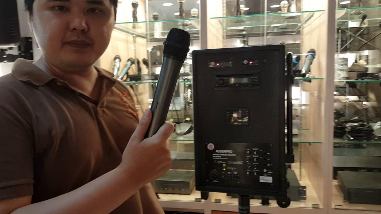 Bose Sound System >> Toko premiumaudio jual sound system portable AUDERPRO AP 1282PA - YouTube